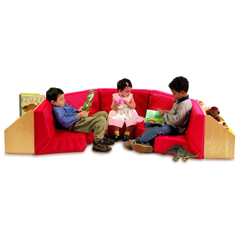 5 Section Reading Nook - Qty 5/8010'S - Baby Buggy Outlet LLC
