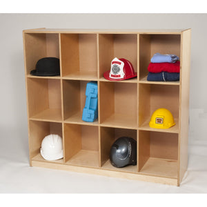 Twelve Cubby Backpack Storage