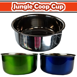 10oz Coop Cup with Ring & Bolt - color box (Stainless Steel) - Baby Buggy Outlet LLC