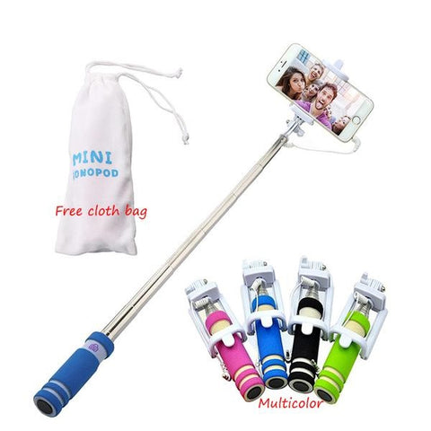 Wired Selfie Stick - 4 Design Types - Baby Buggy Outlet LLC