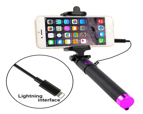 Wired Selfie Stick - 5 Design Types - Baby Buggy Outlet LLC