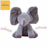 Peek a Boo Singing Elephant Plush Toy