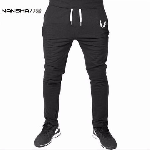 NANSHA Mens Gym Jogger Pants