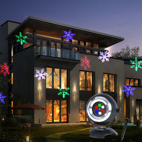 Festive Holidays Snowflake Projector