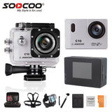 Full-HD Sports Action Camera SOOCOO C10 WIFI camera 1080p 12MP/ 1.5 inch LCD/ 170 Degree Wide Angle/ Waterproof