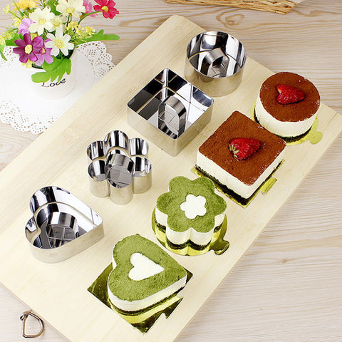 DIY Mousse Cake Mold Stainless Steel Cake Mousse Ring