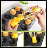 2 in 1 Oil and BBQ Dispenser with Basting Brush