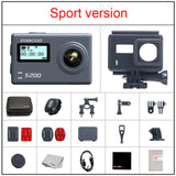4K Sports Action Camera SOOCOO S200 with WiFi/ Voice Control External Mic GPS/ 2.45 inch Touch LCD Screen