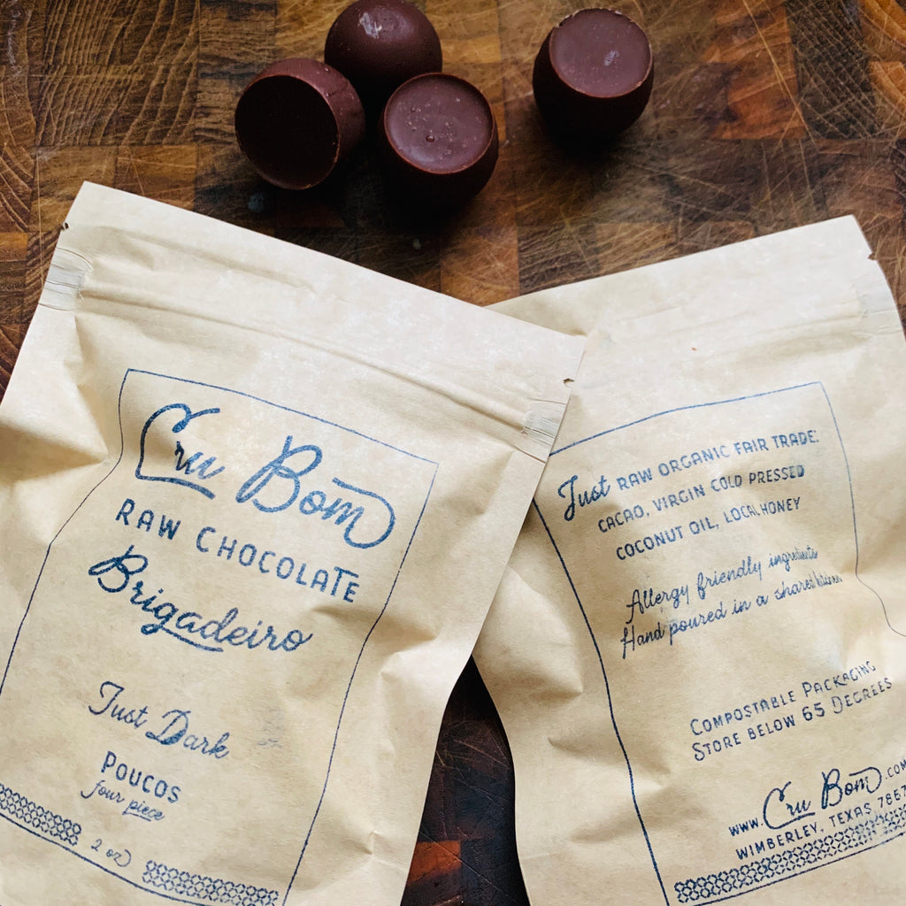 Raw Chocolate Pouco de Boms