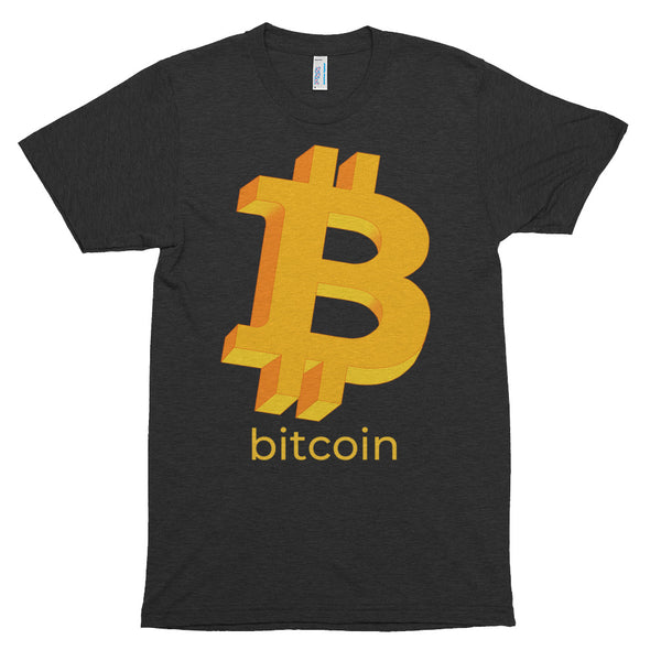 Bitcoin Original Logo with Text T-Shirt