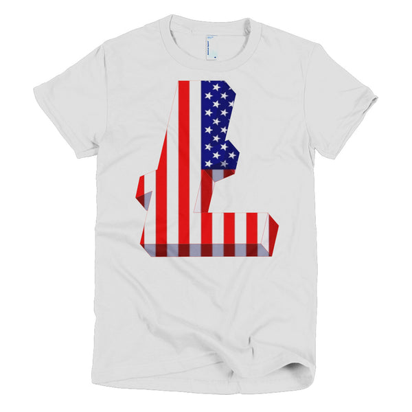 Litecoin USA Original Short Sleeve Women's T-Shirt