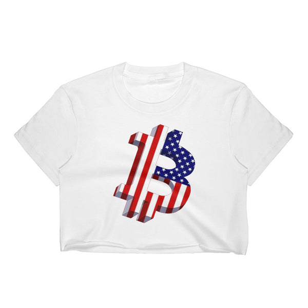 Bitcoin USA Original Women's Crop Top