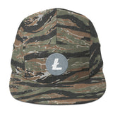 Litecoin 5 Panel Camper Hat