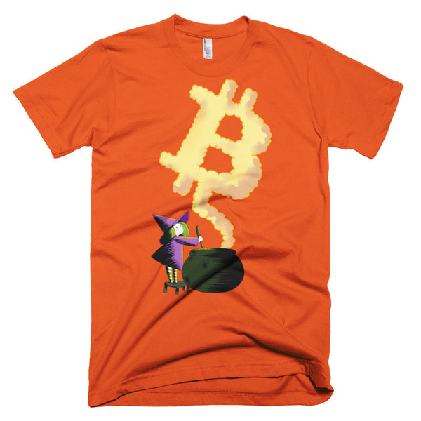 Bitcoin Witch Original Short-Sleeve T-Shirt