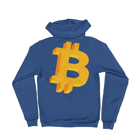 Bitcoin Geometric Logo Original Hoodie sweater