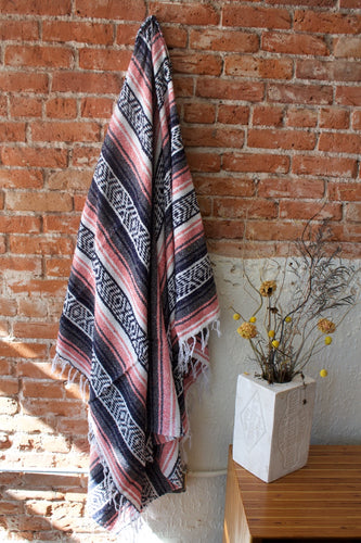 Tribe and True Pastel Rose Falsa Blanket