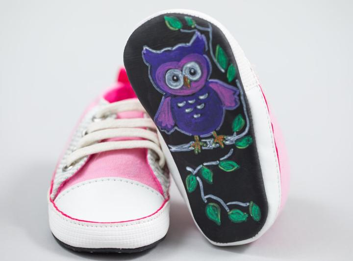 Kimberly's Friday Favorites Include Baby Says Chalkboard Shoes!
