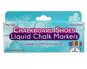 Liquid Chalk Markers - Baby Says