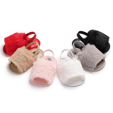 LIMITED EDITION: Furry Baby Slippers - Baby Says