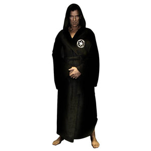 Robe Male With Hooded Thick Star Wars Dressing Gown Jedi Empire