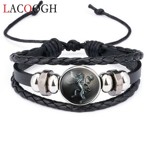 Game of Thrones Bracelets for Men Women Houses