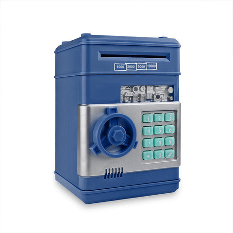 Electronic Money Safe Box for Coins and Bills