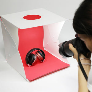 Portable Foldable Softbox Mini LED Light Room Tent with EVA 4pcs Photo