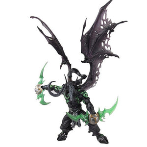 World of Warcraft Collector Action Figure Demon Hunter Illidan Stormrage PVC