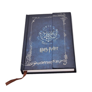 Vintage Harry Potter Magnetic Buttons Diary Schedule Notebook Travel Planner Notebooks