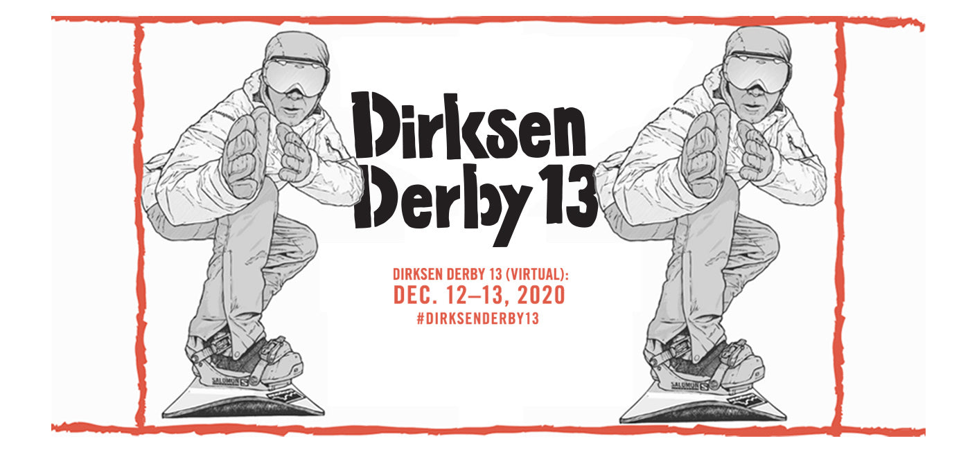 Dirksen Derby 13 (virtual) Race banner