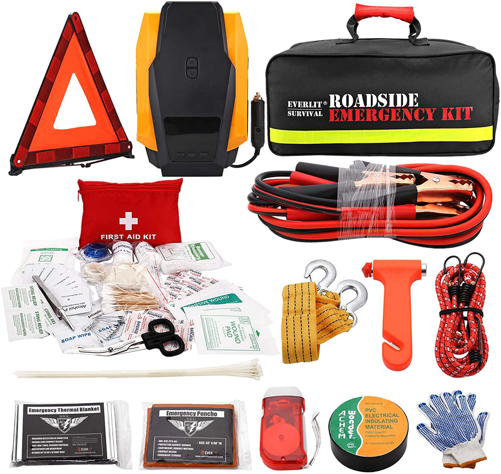 Perry Lee TekkPerry Car Emergency Kit Roadside Assistance Auto 5841757420