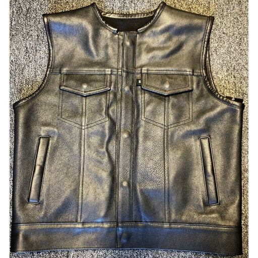 Espinozas Leather Vest - TMF Cycles