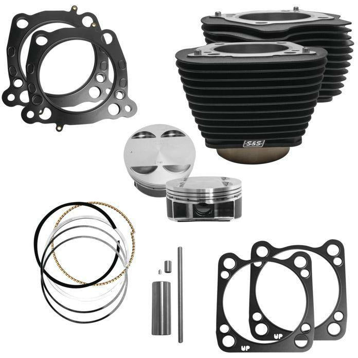 S&S Big Bore Kits for Milwaukee Eight