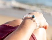 The Leland Blue | Crystal Recycled Glass - Homes Bracelets