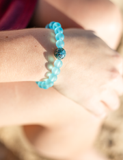 The Leland Blue | Turquoise Bay Recycled Glass - Homes Bracelets