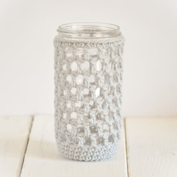 nautical-drink-cozy-crochet-mason-jar-cover-gray
