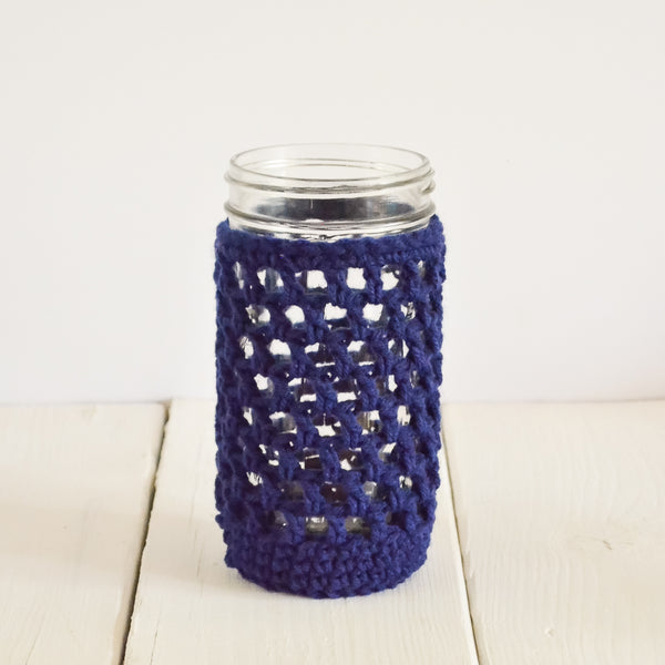 nautical-drink-cozy-crochet-mason-jar-cover-navy