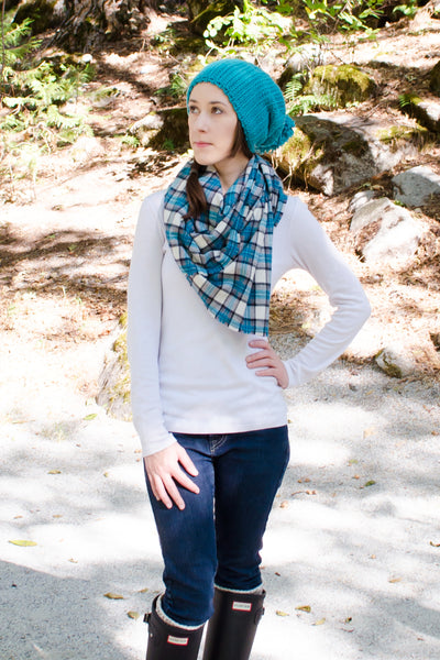 plaid-blanket-scarf-turquoise