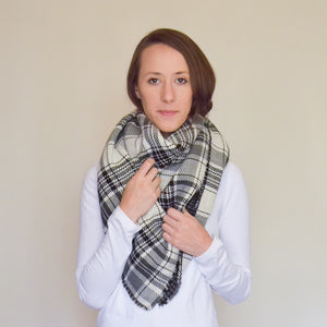 Fireside Blanket Scarf - Reversible - R Allison Shop