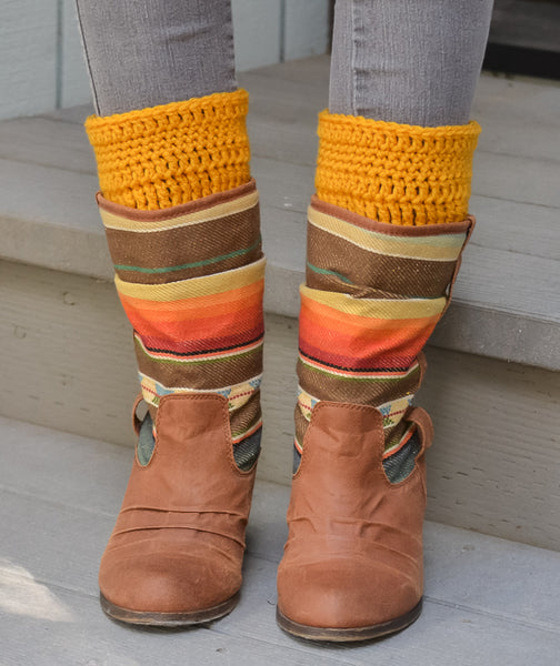mustard-yellow-boot-warmers