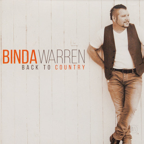 Indigenous artist Binda Warren Back to Country Music CD