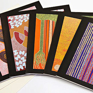 Gift Card Set (8 Individual Designs). A design by Indigenous artist Lisa Michl KO-Manggen