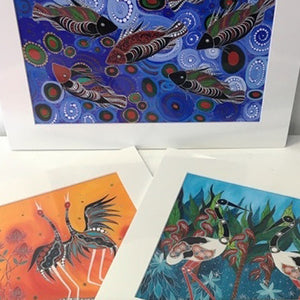 Digital Prints by Indigenous artist Melanie Hava