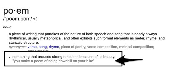 poetry definition