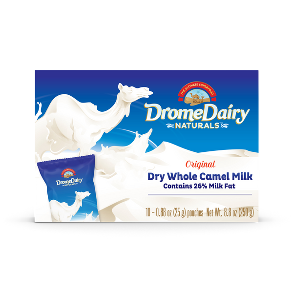 Camel Milk Powder 250g Box (10x 25g servings)