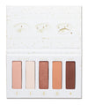 FLIRTY FLEKK Eye Shadow Palette and 4-Piece Brush Set