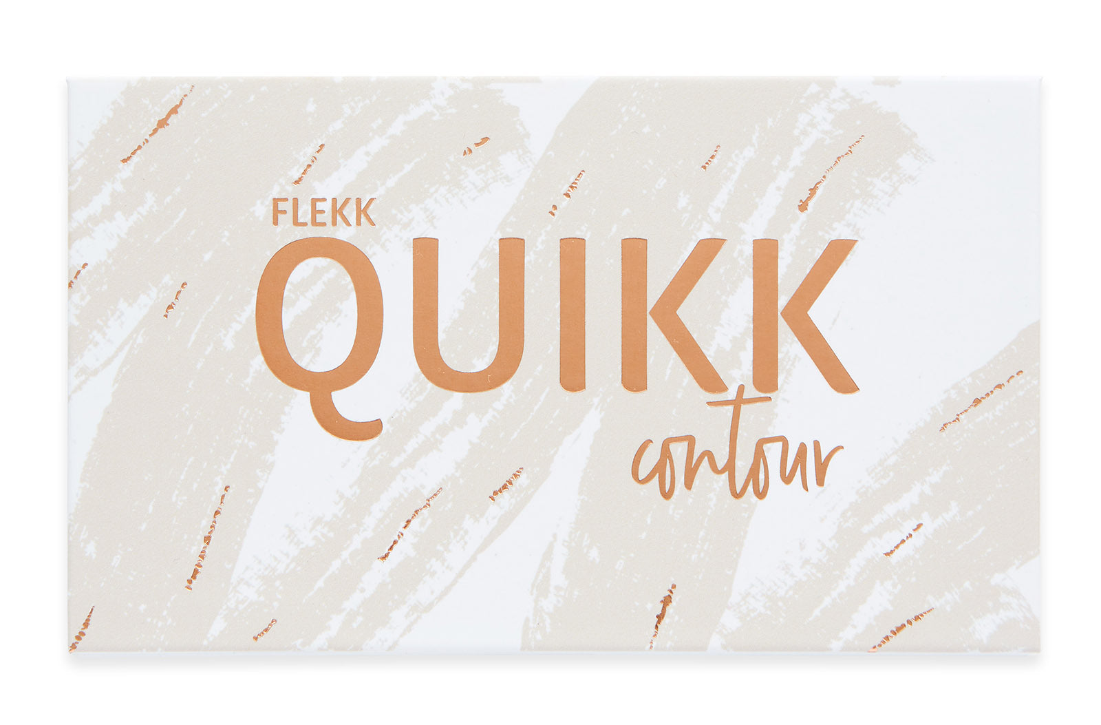 QUINCY QUIKK Contour Palette + Brush