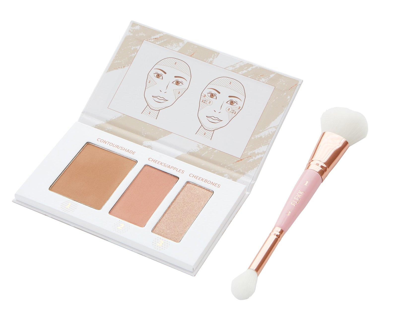 *New* QUINLYN QUIKK Contour Palette + Brush Set