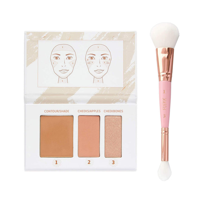 VIP QUIKK Contour Palette + Brush Set