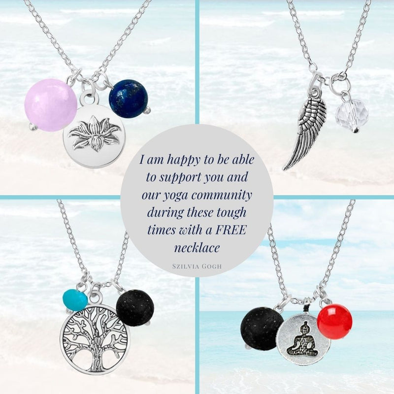 Enjoy a FREE Yoga Necklace on Gogh Jewelry Design!